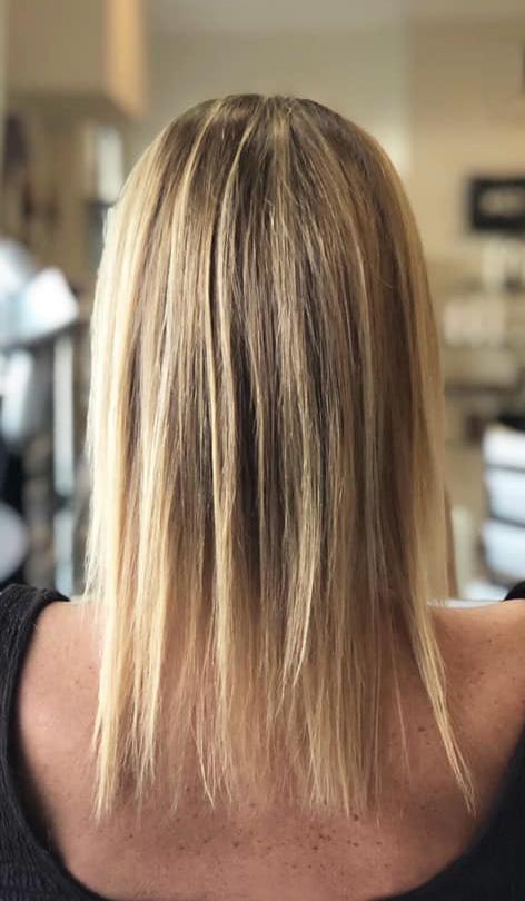 Antes de colocar extensiones de cabello natural