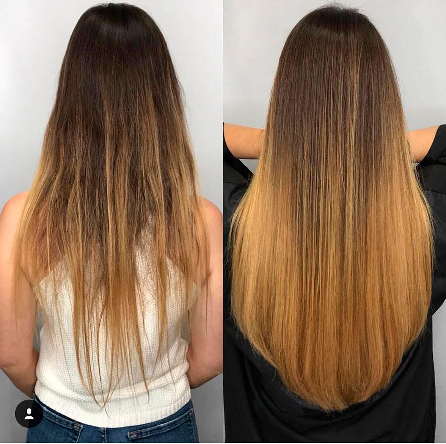 extensiones de cabello natural en Macavi