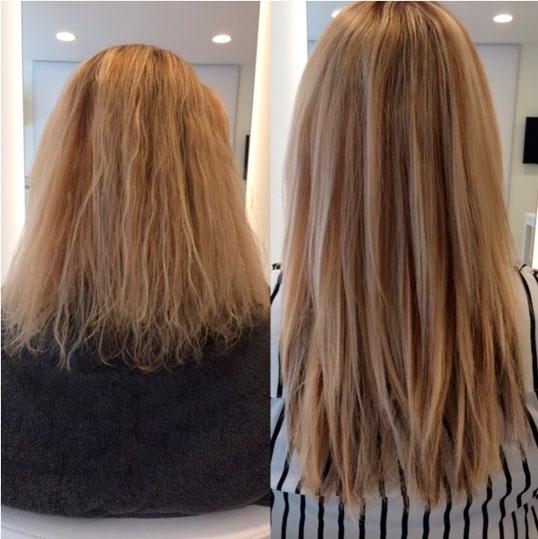galeria de extensiones de cabello natural pelo liso