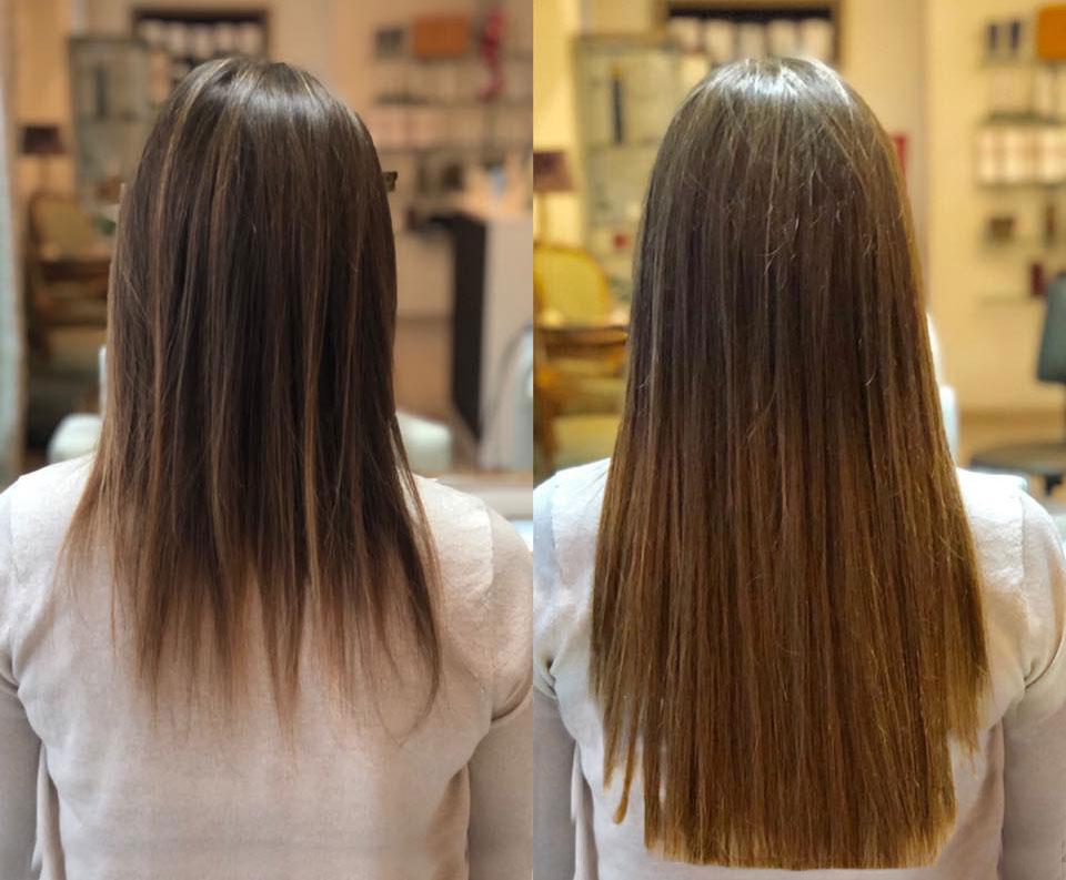 galeria de extensiones de cabello natural pelo moreno