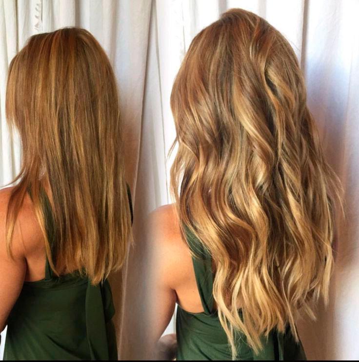 galeria de extensiones de cabello natural