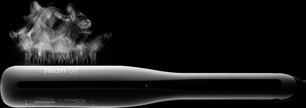 steampod con vapor