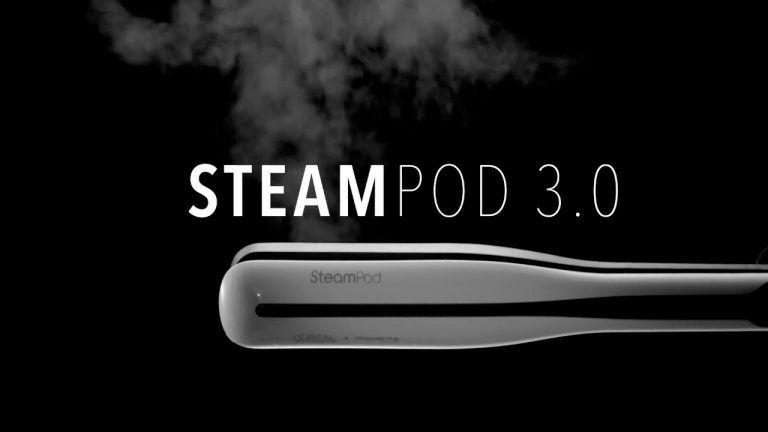 SteamPod 3.0 La primera herramienta de peinado potenciada con vapor en un solo gesto