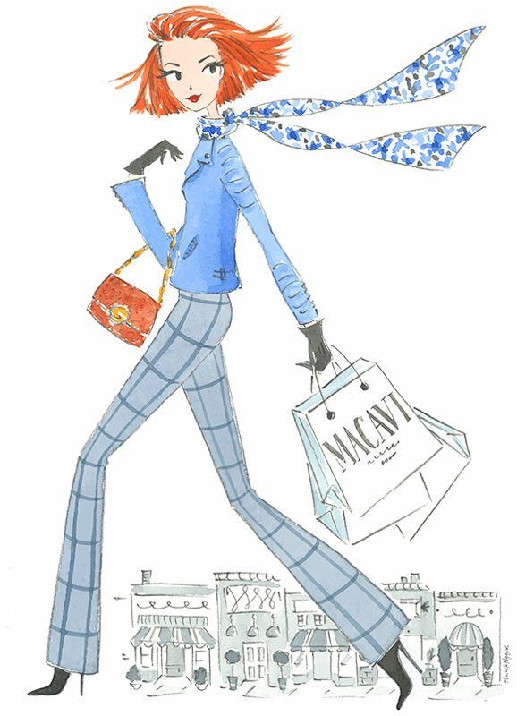 ilustración de akhiggins para macavi invierno