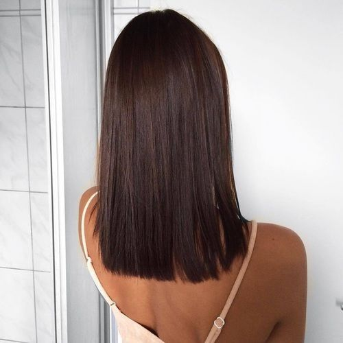 cuidados para el cabello liso de pelo moreno