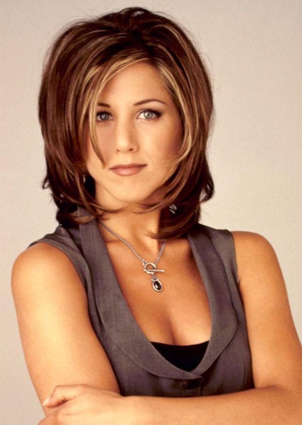Jennifer Aniston con corte de pelo shaggy