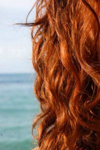 coloración para el cabello en 2021 pelirrojo