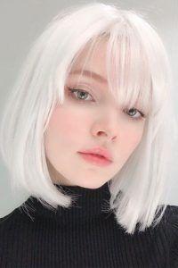 coloración para el cabello en 2021 pelo blanco
