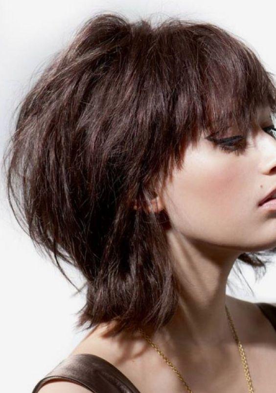 """corte de pelo """"shag"""""""